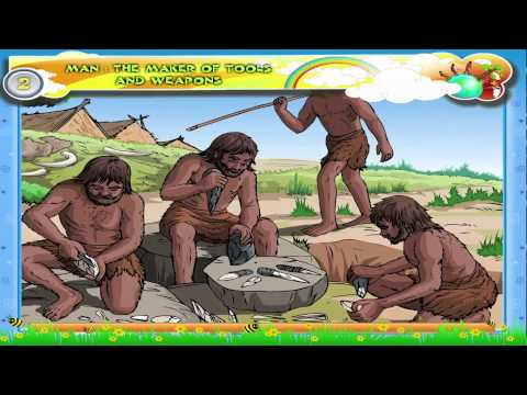 Learn Grade 3 - History - Man - Stone Age Tools and Weapons