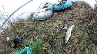 Щуканы на джиг  (видео-отчет) рыбалка конец октября 2015 Ловля щуки на джиг осенью(Ловля щуки на джиг осенью. Продолжаю осваивать джиг на глубине. Хочется поймать щуку посерьезнее. Но сезон..., 2015-11-03T09:14:21.000Z)