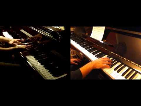 """Masashi Hamauzu - Five Piano Duets From """"Piano Pieces SF2"""" (duet With Daigoro789)"""