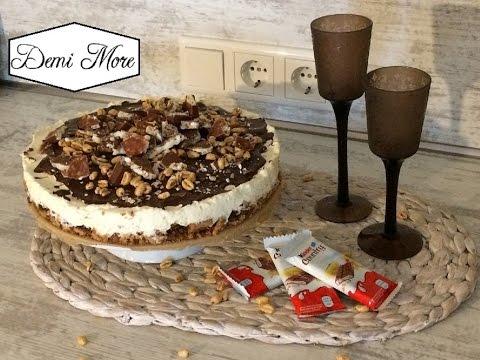 Kinder Country Torte No Bake Torte Kuhlschranktorte Einfach