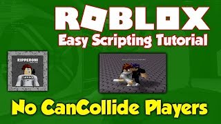 Roblox | How to have No CanCollide Players (R6/R15) | Scripting Tutorial