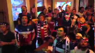 Hattiesburg Fan Reaction to USA Portugal 2 2 World Cup Draw