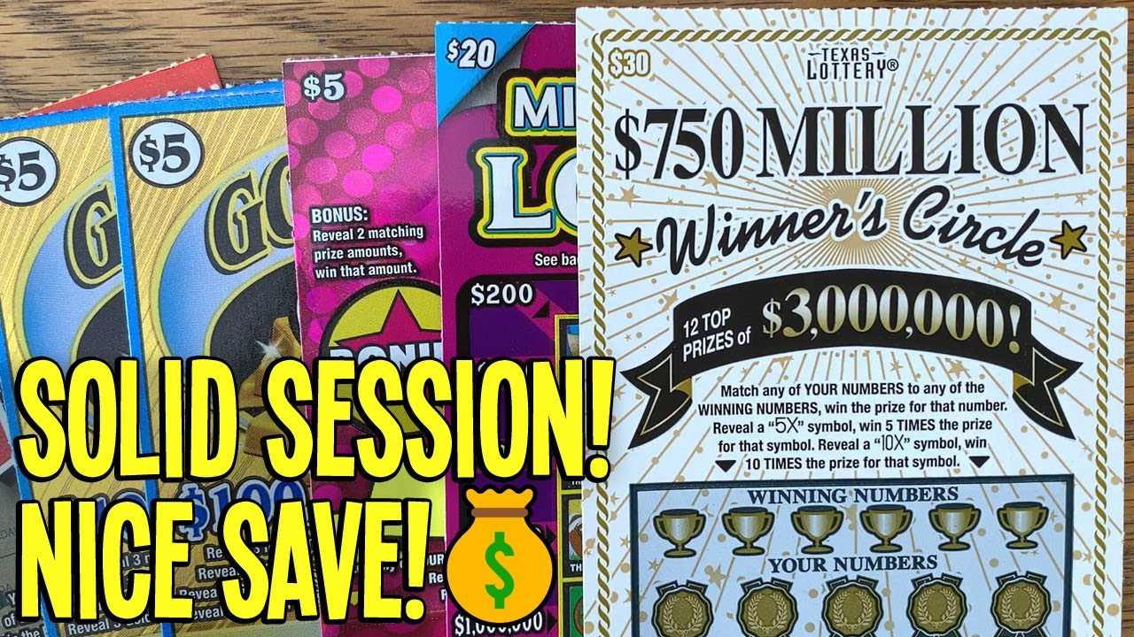 SOLID SESSION! 💰 $115/TICKETS! $30 Winner's Circle + END OF ROLL Gold Mine 9X 💵 TEXAS LOTTERY