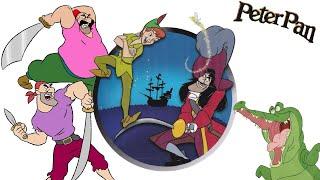 """CD-ROM: Aventuras de Peter Pan en el País de Nunca Jamás (2002). """"Jefes del juego""""."""
