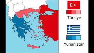 Alternatif Türkiye Yunanistan Savaşı (Harita)
