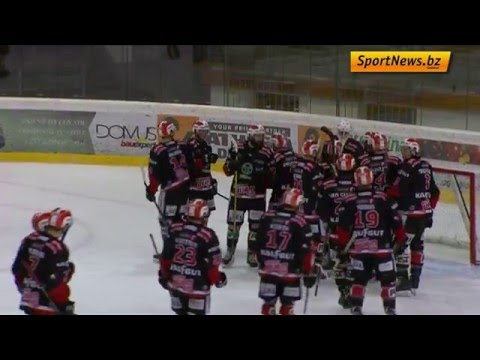 Highlights HC Gröden - Rittner Buam 0:4