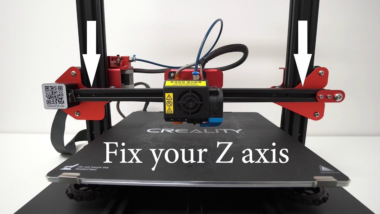 Creality Cr10S PRO - Upgrade your Z axis (T8 Anti-Backlash install)