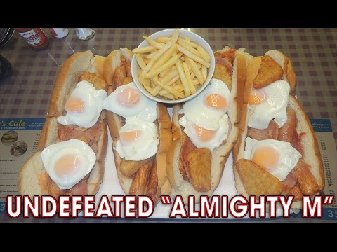UNDEFEATED BREAKFAST SANDWICH CHALLENGE!!