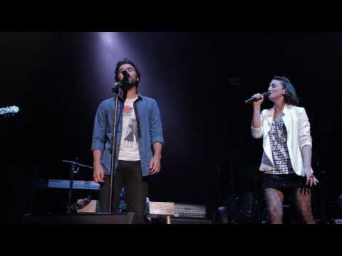 Sara Bareilles with Ben Abraham - 'I'm On Fire' LIVE at Rod Laver Arena Melbourne 05.05.11