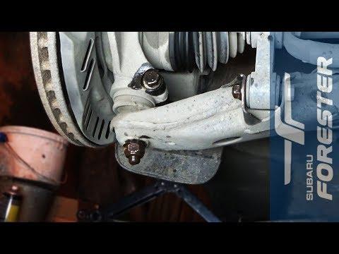 Замена шаровых опор на Subaru Forester (SF, SG, SH)