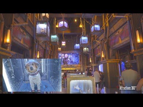 [4k] Guardians of the Galaxy Ride Full Queue Tour - Disneyland Resort