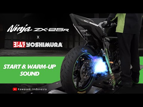 Kawasaki Ninja ZX-25R x Yoshimura: Start & Warm-up [Sound]