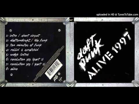 Daft Punk - 06. Revolution 909 [Part 1]  (Live @ Que Club / Alive 1997)