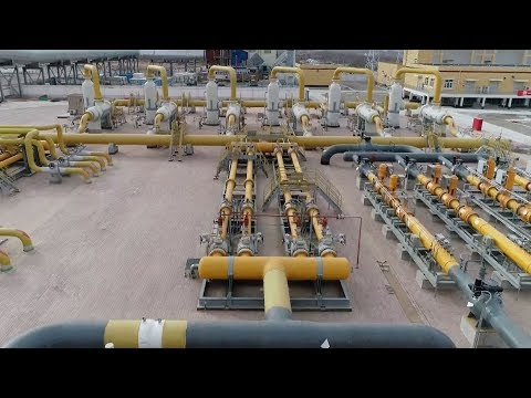 Zhongwei compressor station starts operations