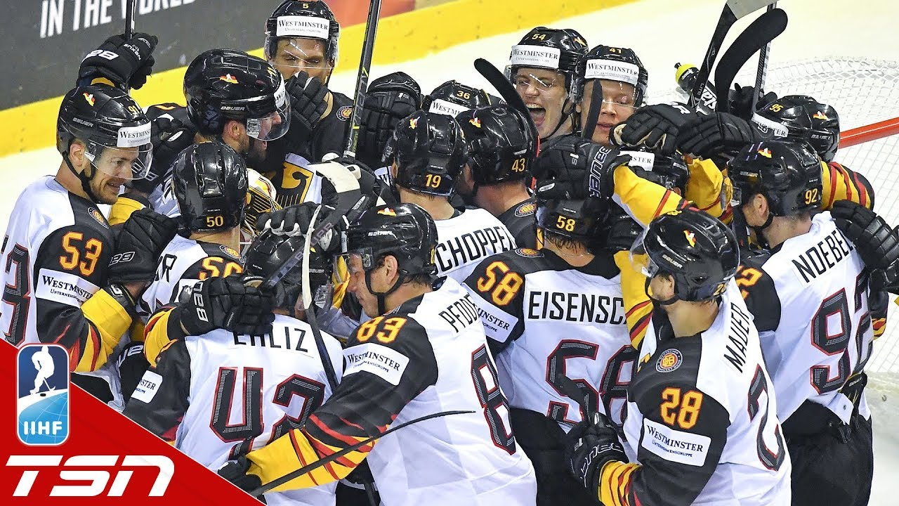 the best attitude f1ac2 e84f5 Draisaitl, Germany stun Slovakia with comeback win to remain undefeated