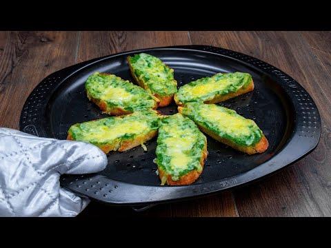 une-collation-savoureuse-qui-me-sauve-toujours.-ciabatta-à-l'ail-et-au-fromage|-savoureux.tv