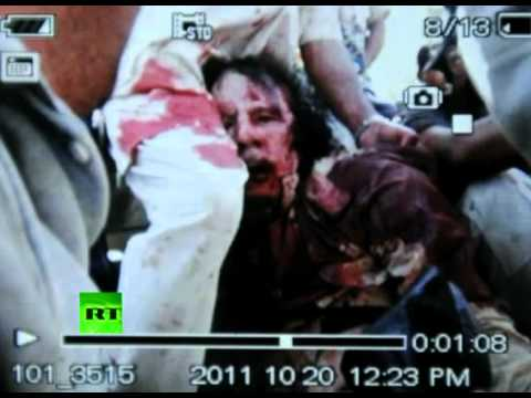 Gaddafi 'Dead'? - Another victim of the American Banksters Tyranny? STOP THEM!