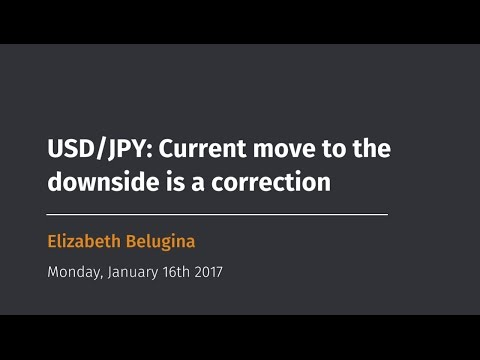 USD/JPY: Current move to the downside is a correction