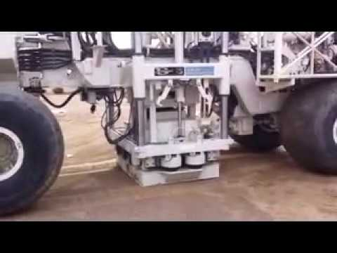 WesternGeco DX-80 Land Seismic Vibrator Truck