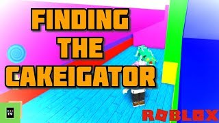 How to make a Giant Alligator - Make a Cake Back for Seconds Roblox Kids Game - Gameplay #1