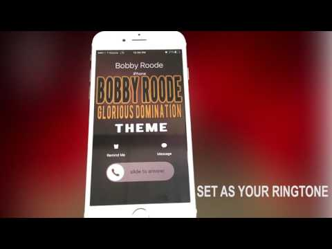 Bobby Roode Glorious Domination Ringtone