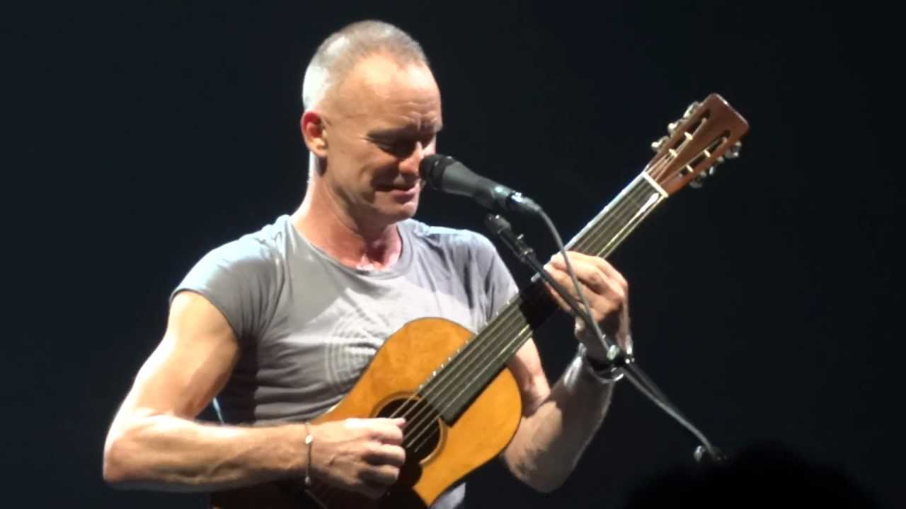 Sting Bass Solo : sting message in a bottle solo acoustic final encore back to bass london 21 march ~ Hamham.info Haus und Dekorationen