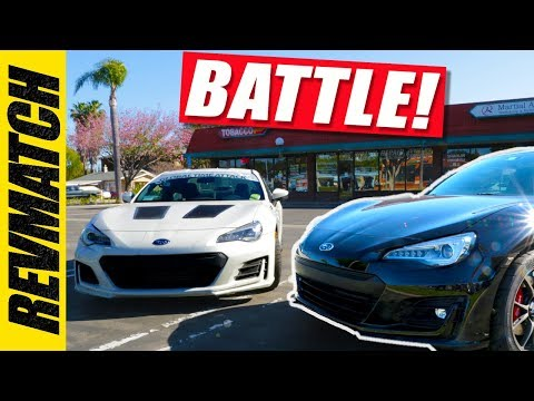Turbo vs Supercharged BRZ Shootout