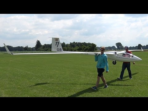 51ft. Rc Glider - ETA 50% - The Largest Rc Plane In The World