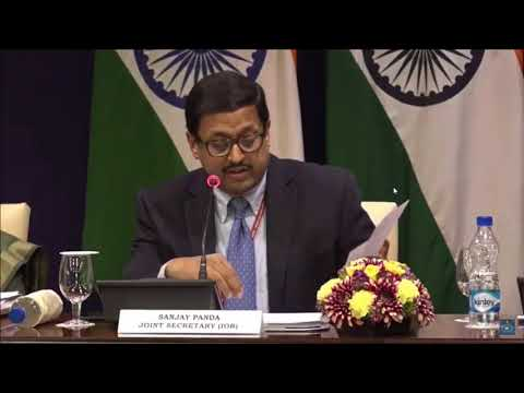 Media Briefing on visit of President to Mauritius & Madagascar