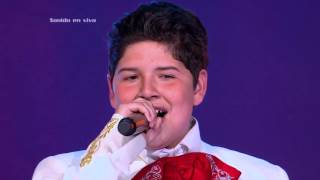Jeanra cantó Aunque no sea mayo de R. Castillo - LVK Col - Audiciones a ciegas - Cap 7 – T2