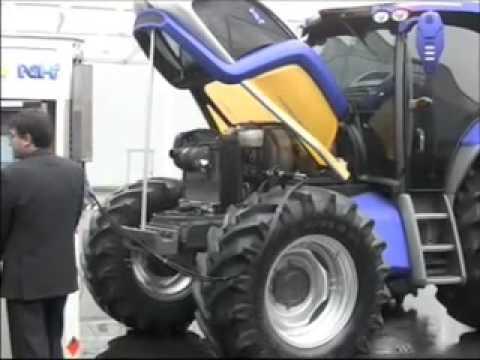 Tracteur New Holland Carbure A L Hydrogene