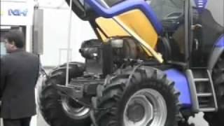 Tracteur: New Holland carbure à l'hydrogène