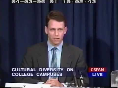 In 1996 PayPal Founder a Young Peter Thiel Predicts Effects of MultiCulturalism and Diversity