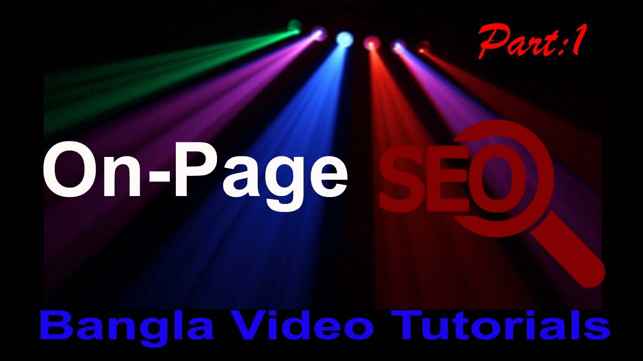 Image Result For On Page Seo Tutorials In Bengali Shefali