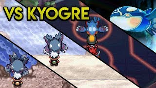 Evolution of Kyogre Battles (2003 - 2017)