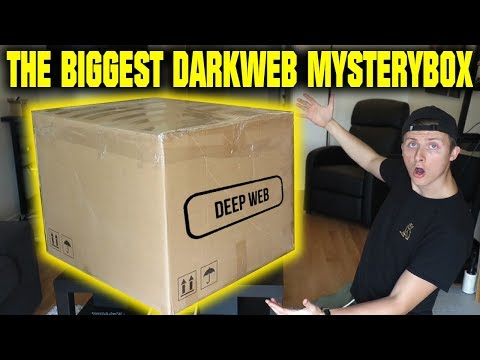 THE WORLDS BIGGEST DARK WEB MYSTERY BOX OPENING (WE FIND SOM