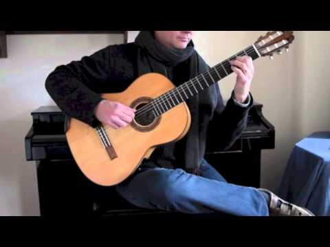 Fields of Gold (Sting), arranged for guitar by Jonathan Pickard