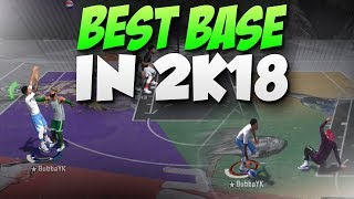 BEST BASE IN NBA 2K18 AFTER PATCH 11!! PLAYSHOOTER SHOOTS LIKE A PURE SHARP