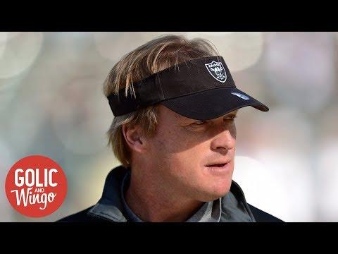 Jon Gruden on Raiders job: There's a good chance | Golic and Wingo | ESPN