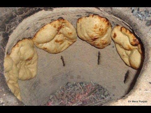 Indian Way Of Making Tandoori Roti/Naan Bread