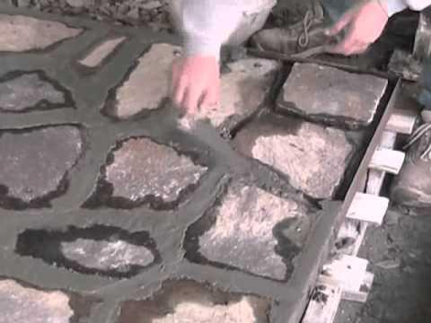 Lusernapietre Com La Posa Del Pavimento Youtube