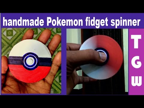 DIY Pokemon fid spinner