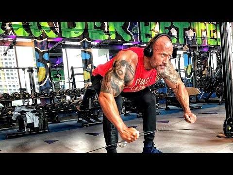 """Dwayne""""The Rock""""Johnson - The Best Training in One Video 2018!!!"""
