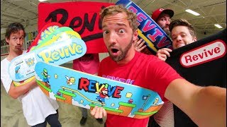 THE NEW REVIVE SKATEBOARDS! / Video Game Decks! - Summer 2018
