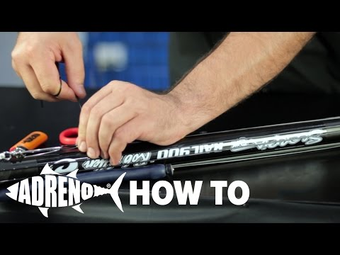 How To Rig a Double Wrap Speargun | ADRENO