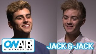 Jack & Jack: The Interview | On Air with Ryan Seacrest