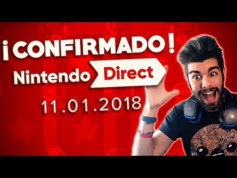 NINTENDO DIRECT MINI 11.01.2018 | REACCIÓN EN DIRECTO | NINTENDO DIRECT ENERO 2018
