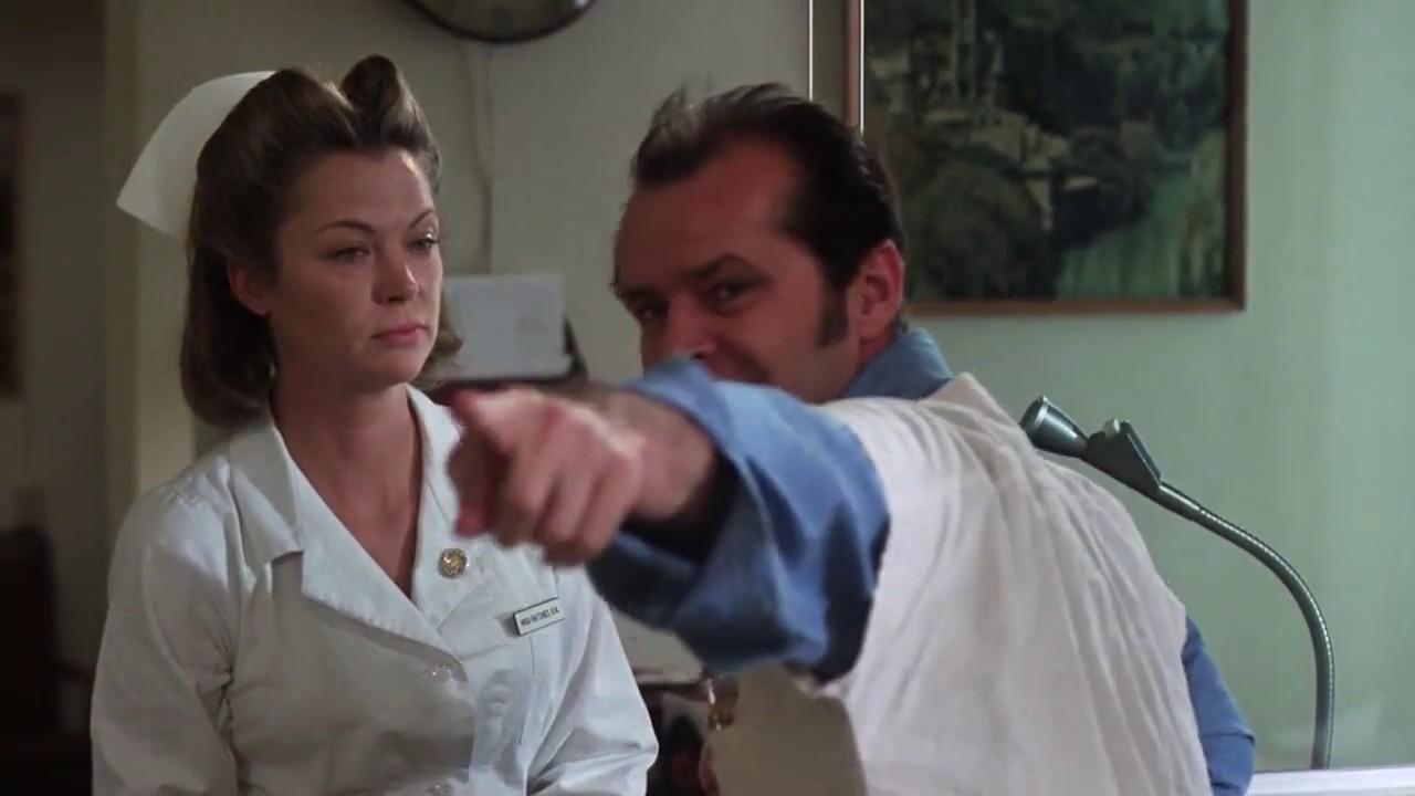 one flew over the cuckoo's nest (1975) (voting scene ...