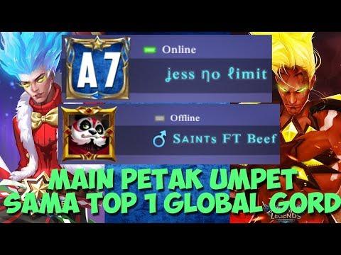 JESS MAIN PETAK UMPET SAMA SAINTS FT BEEF TOP 1 GORD ! HAHAHA - Mobile Legends - 동영상