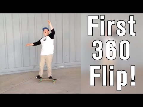 People Land Tre Flip for The FIRST TIME! (360 KickFlip)